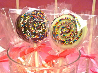 More Oreo Pops from Half Baked