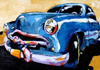 thunder road | car paintings | bruce docker
