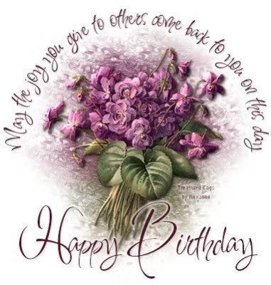 As Happy Birthday Flowers