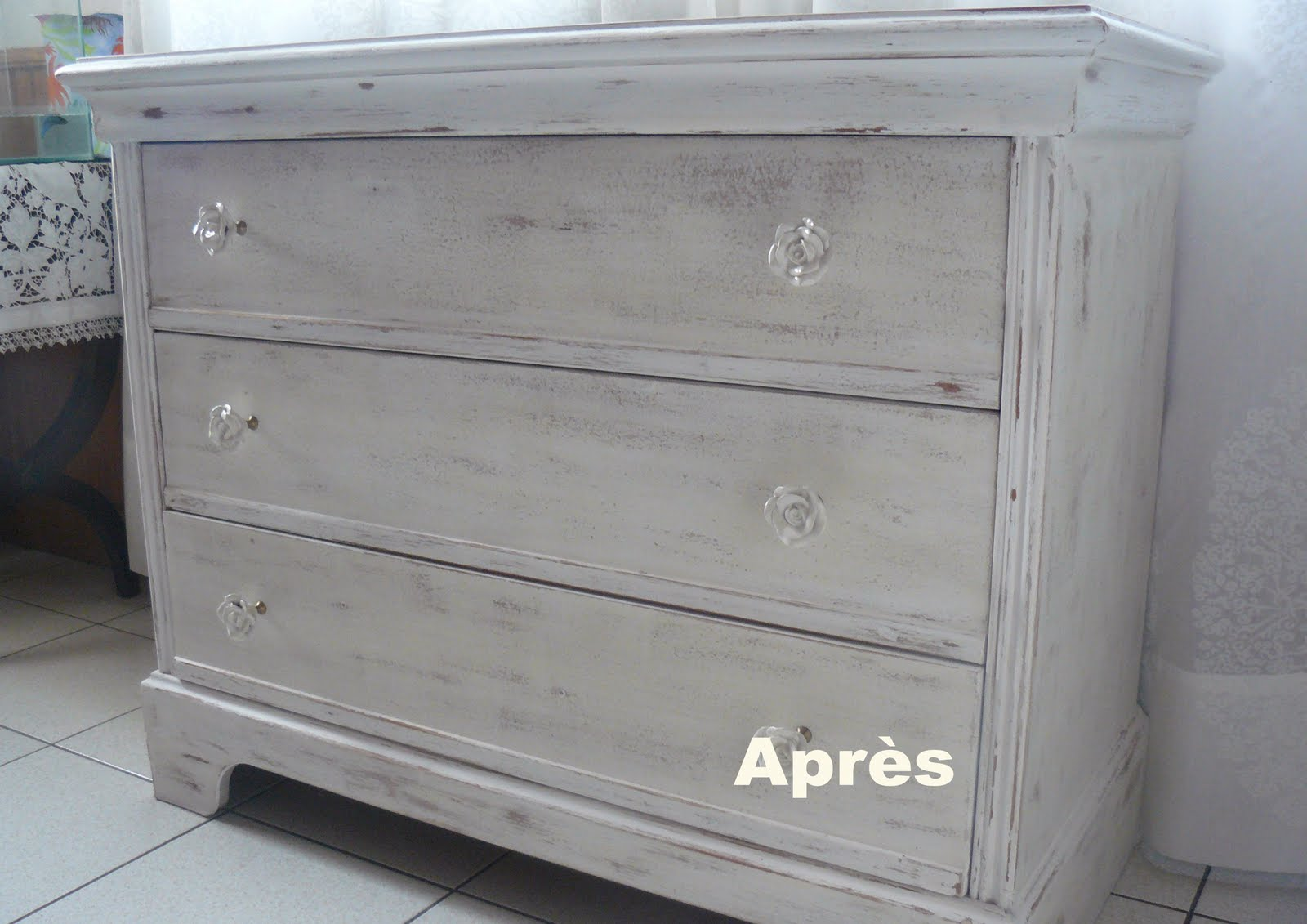 Pascale, made in Herm: Avant/Après