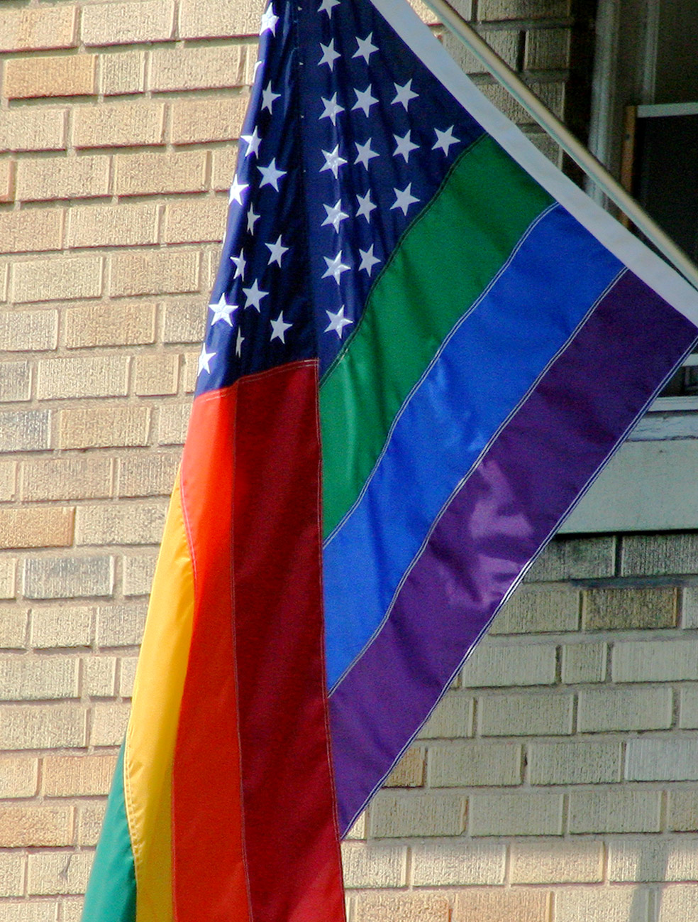 American Gay Love Quotes With Rainbow Flag