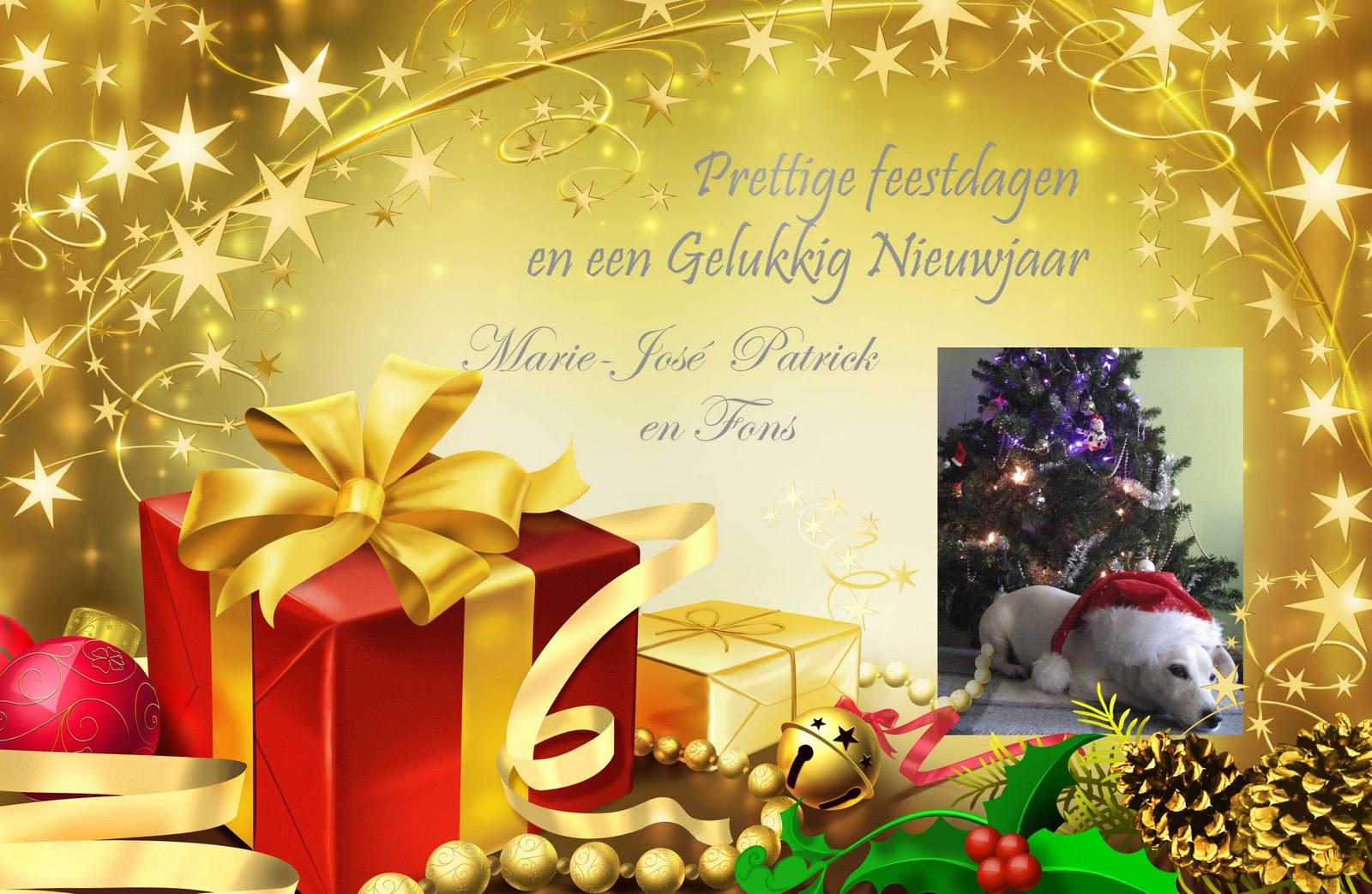Fijne Kerstdagen En Een Gelukkig Nieuwjaar