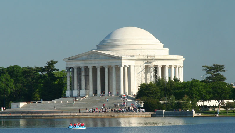 Park Ranger Thomas Jefferson Memorial