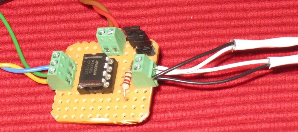 Tinkering with Electronics   : Arduino and RS485 (ENGLISH VERSION)