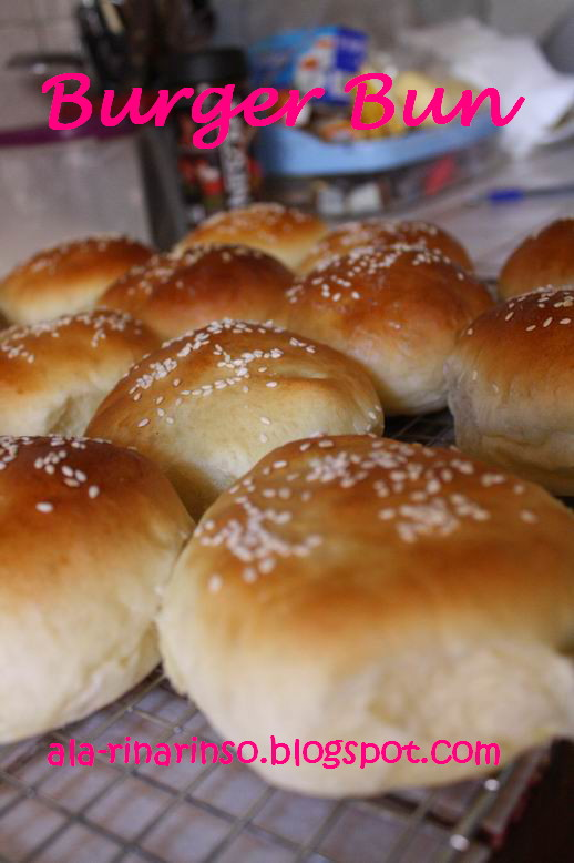 Cara Membuat Roti Burger : membuat, burger, Dapurnya, Rinso:, Burger, Pilihanku
