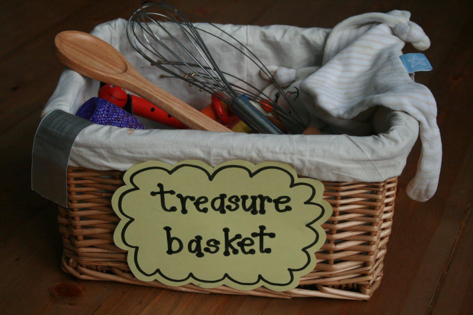 Heuristic Play Treasure Baskets