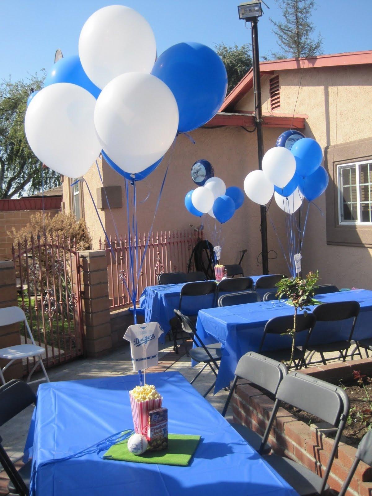 Gabriella Dodger Birthday Party