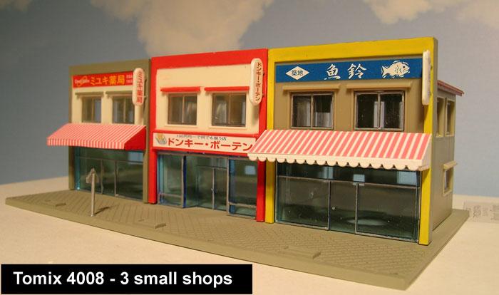 Tokyo in N Scale: N Scale Japanese buildings