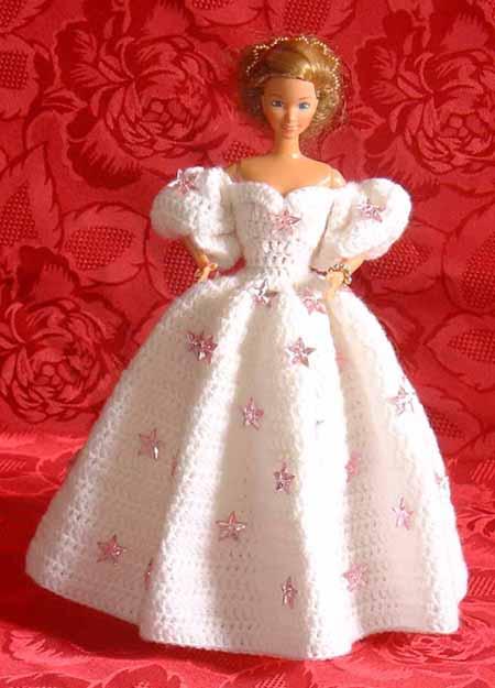 Explication Robe De Princesse Barbie Au Tricot