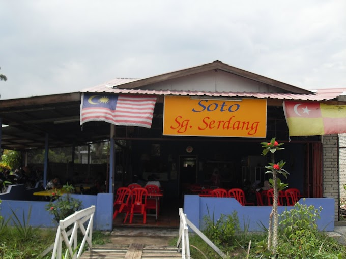 lunch soto @ sungai serdang