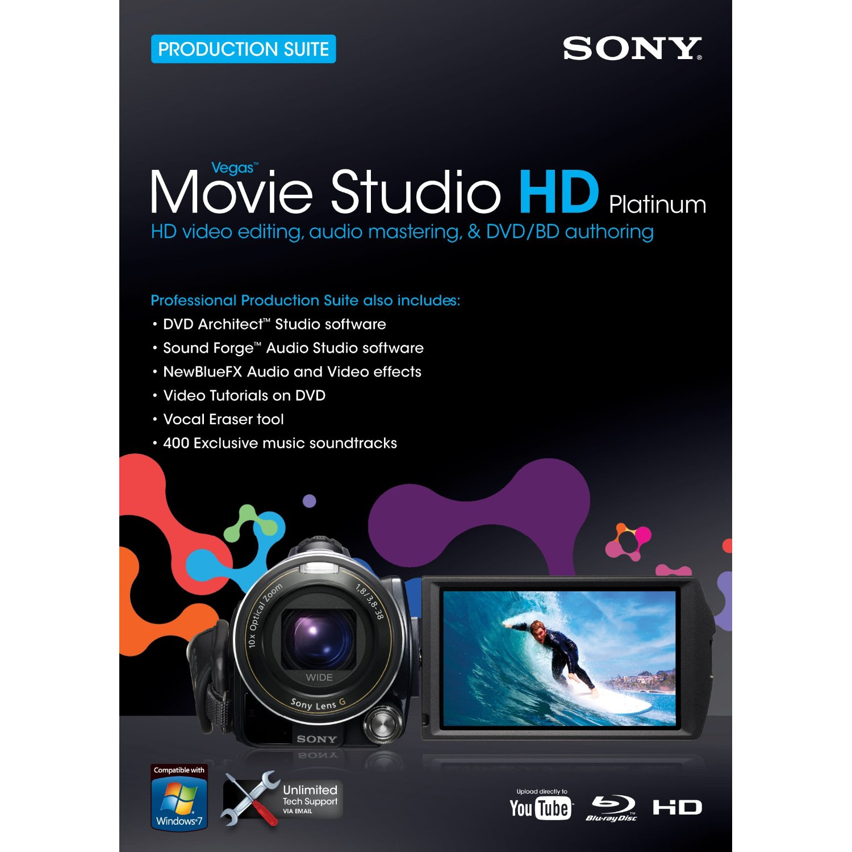 Sony vegas movie studio hd platinum 10.0
