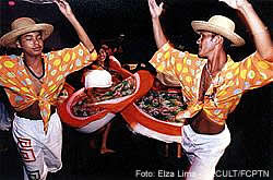 A dança do Carimbó