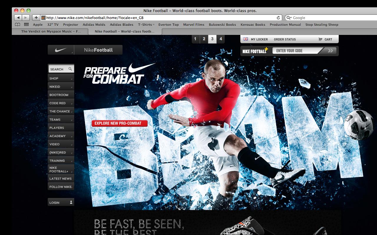 Complicado Semejanza microscópico  Design Context: Nike Website Images.