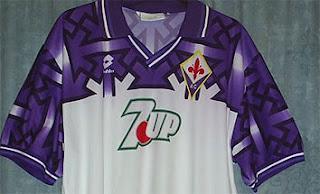 Camiseta Fiorentina 1992