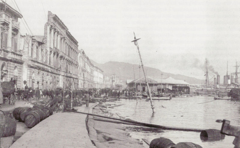Image result for Messina, Italy; (December 28, 1908)