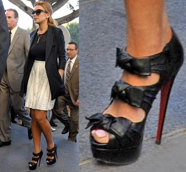 Rihanna Shoes Red