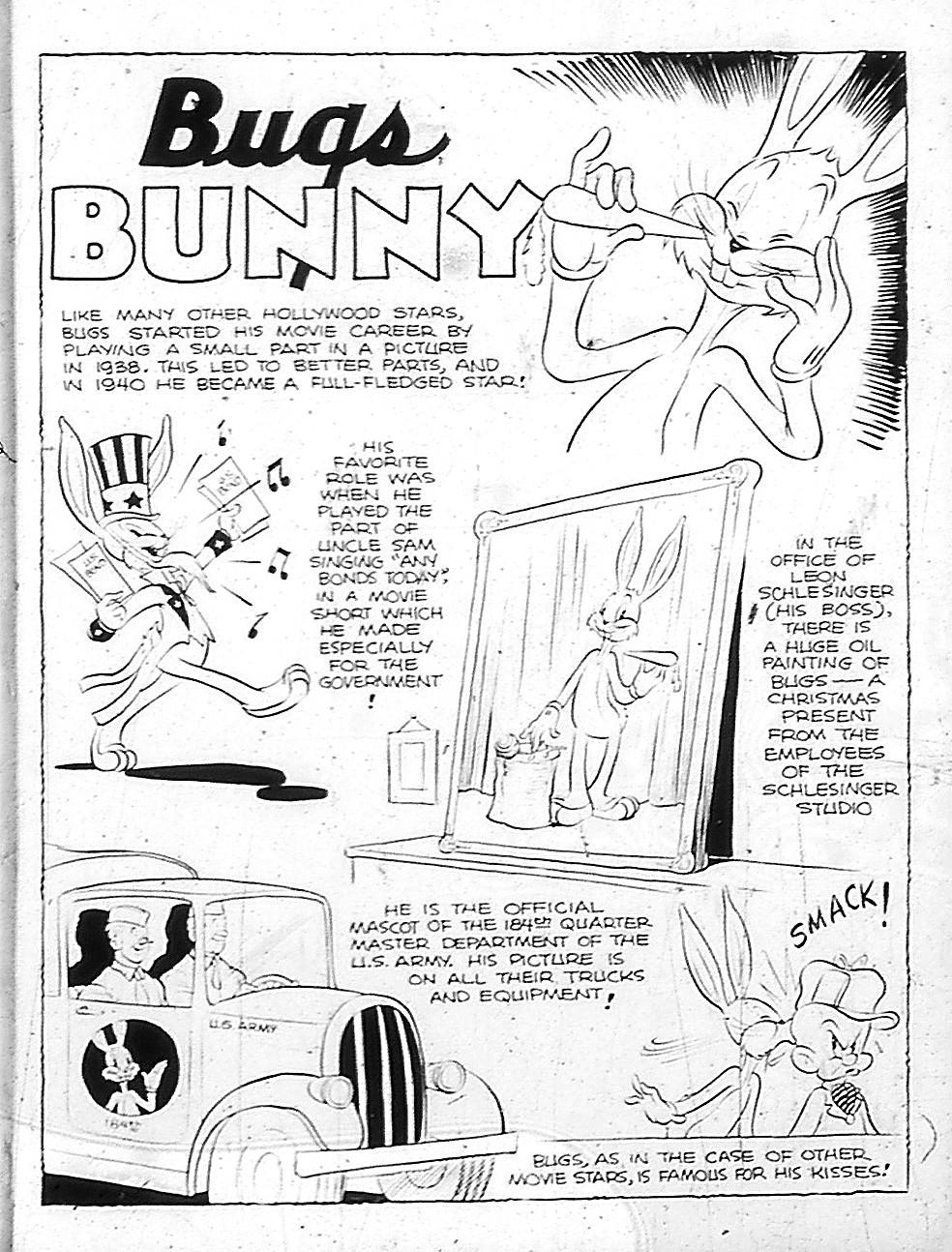 BOOKSTEVE'S LIBRARY: Bugs Bunny Bio