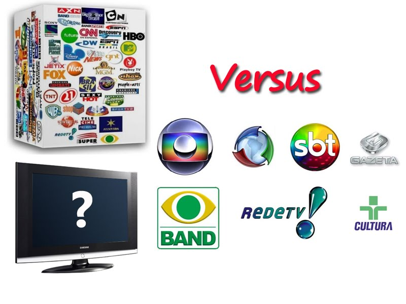 canais mais assistidos no Brasil e julho