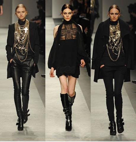 Black On Black Neo Goth Modern Fashion