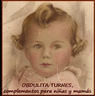 OBDULITA TURNES, complementos para niñas y mamás.