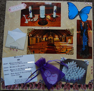 Naturally Me Creations: Wedding Album Project - Part 2