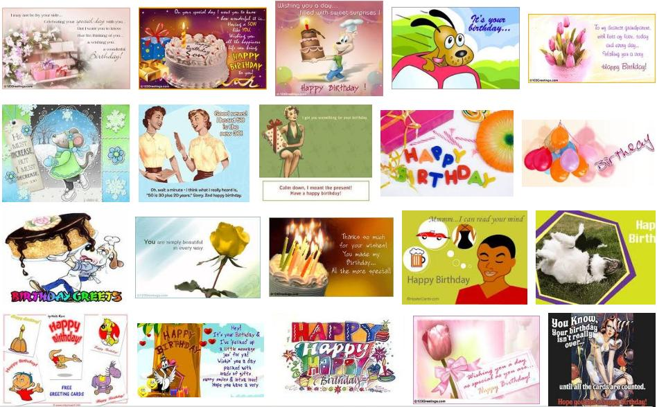 Free Funny Birthday Ecard May