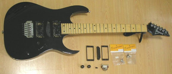theguitaraddict project guitar for sale rg170