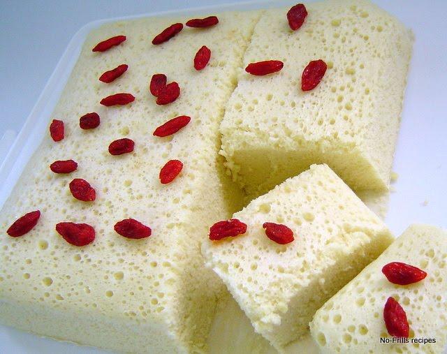 Paper Lined Sponge Cake