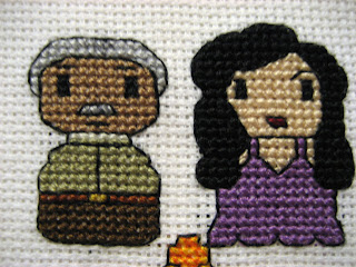 Cthulhu Crochet and Cousins: Firefly Character Cross Stitch!