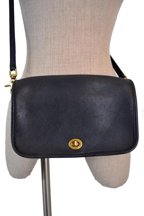 Coach Vintage Leather Purse Cross Body Bag