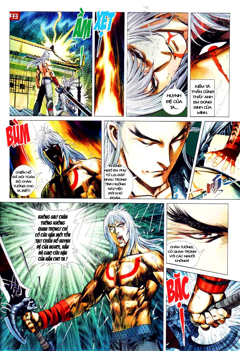 Thiên Hạ Vô Địch Kiếm Tà Thần chap 8 end trang 4