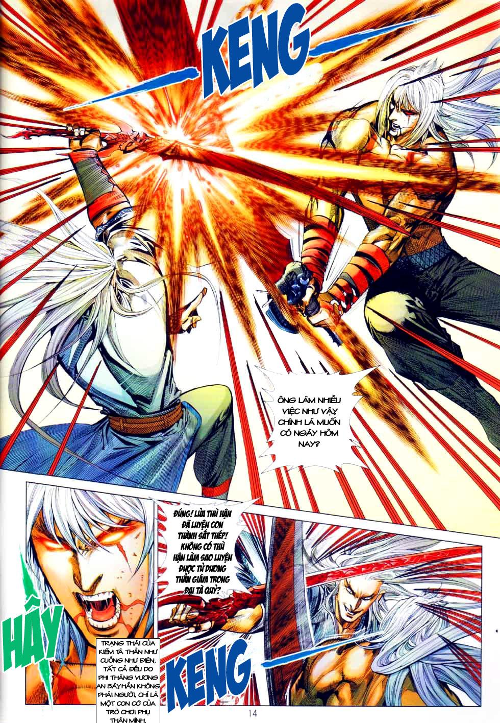 Thiên Hạ Vô Địch Kiếm Tà Thần chap 8 end trang 13