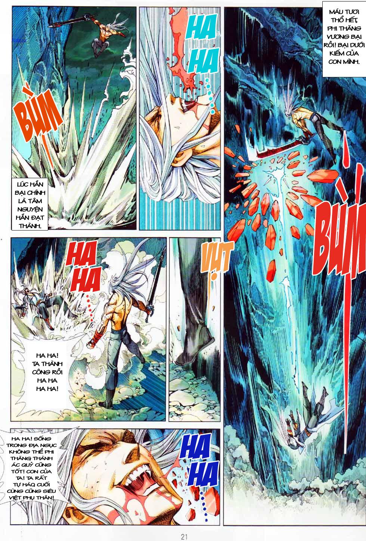 Thiên Hạ Vô Địch Kiếm Tà Thần chap 8 end trang 20