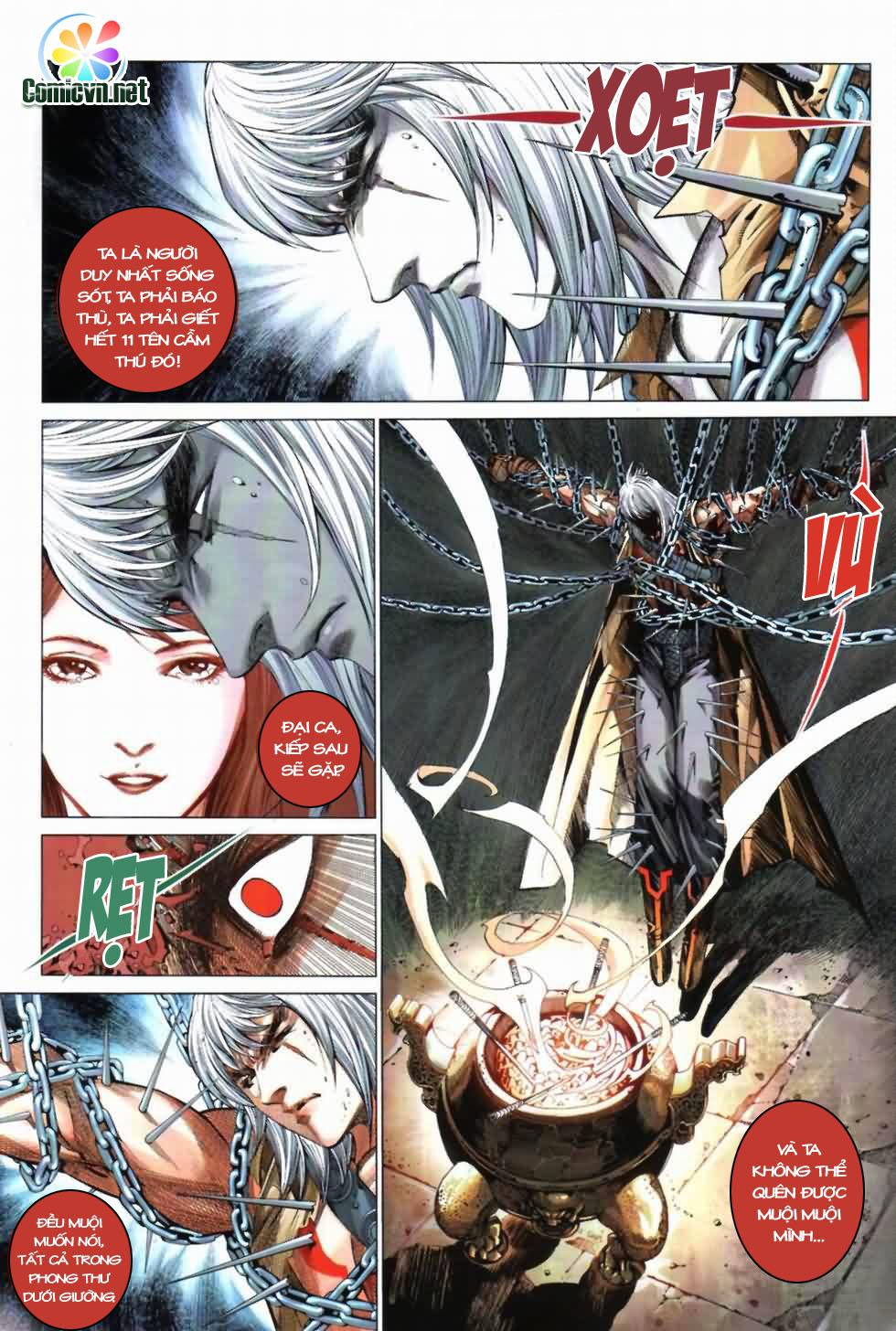 Thiên Hạ Vô Địch Kiếm Tà Thần chap 3 trang 5