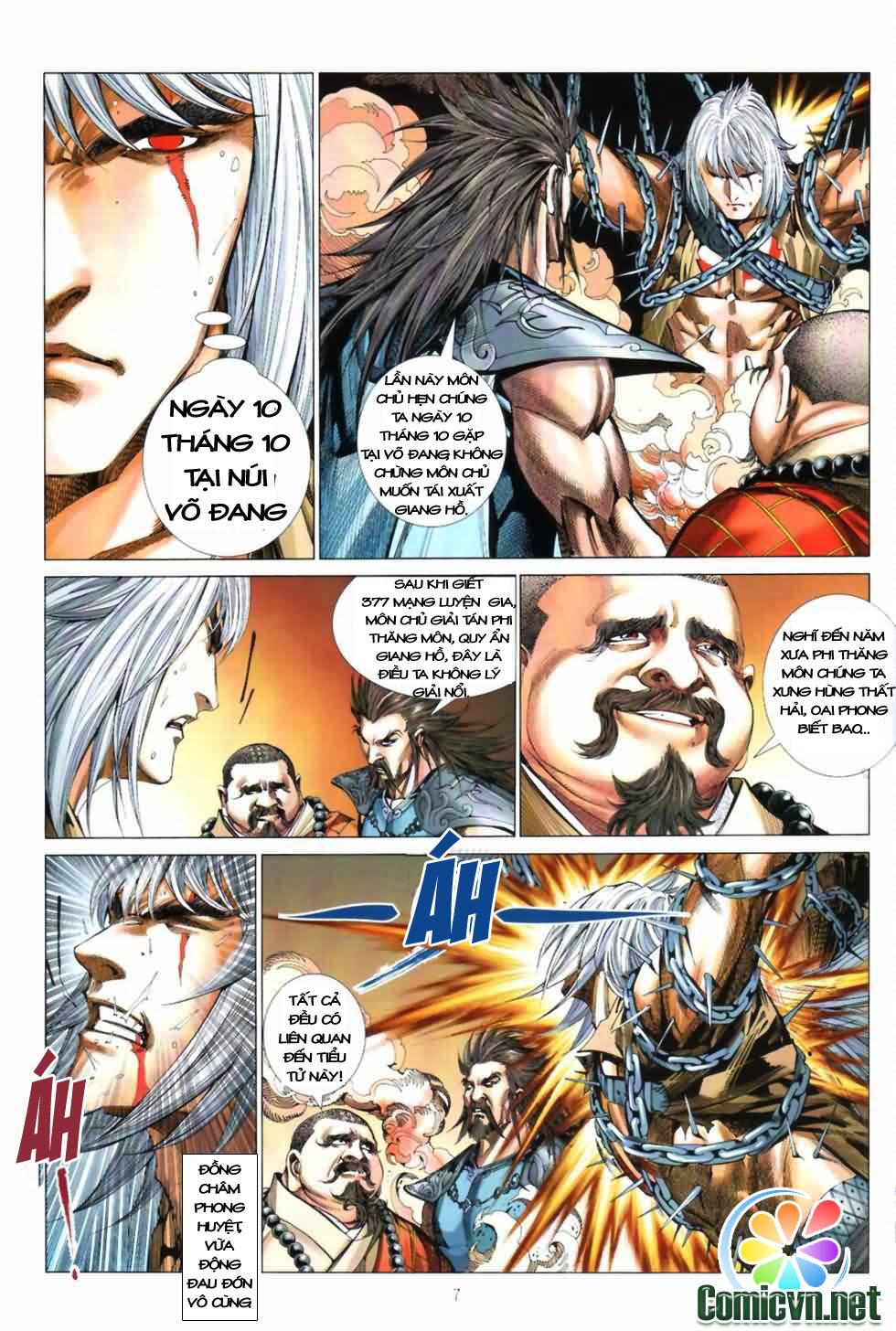 Thiên Hạ Vô Địch Kiếm Tà Thần chap 3 trang 7