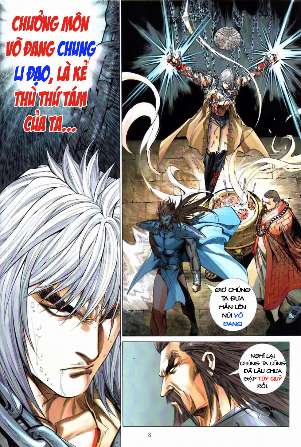 Thiên Hạ Vô Địch Kiếm Tà Thần chap 3 trang 8