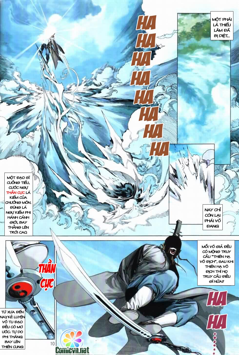 Thiên Hạ Vô Địch Kiếm Tà Thần chap 3 trang 10
