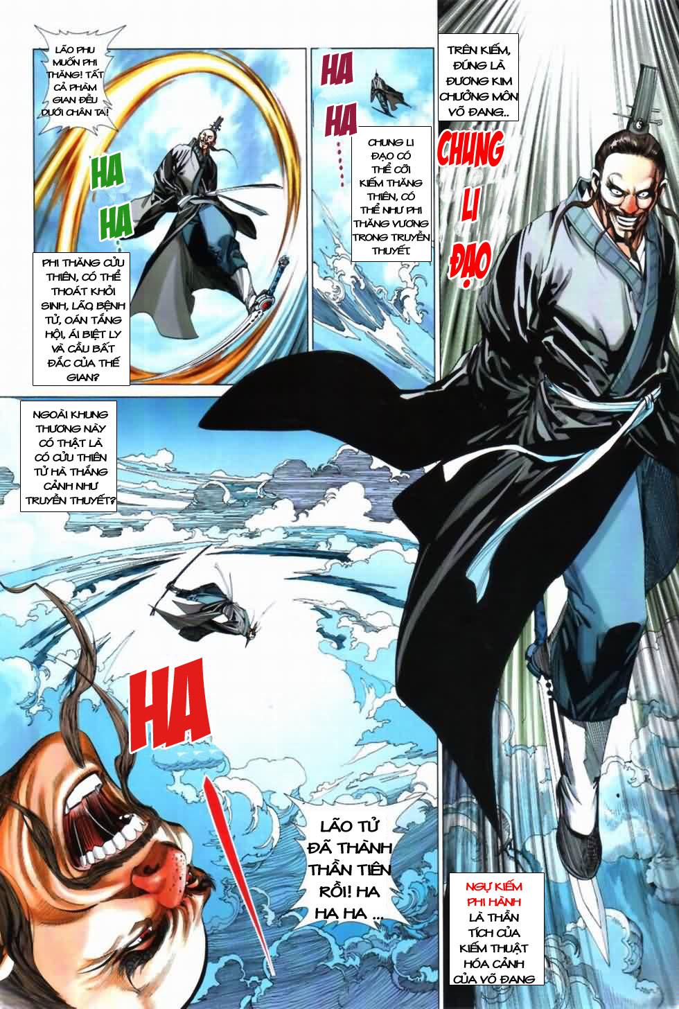 Thiên Hạ Vô Địch Kiếm Tà Thần chap 3 trang 11