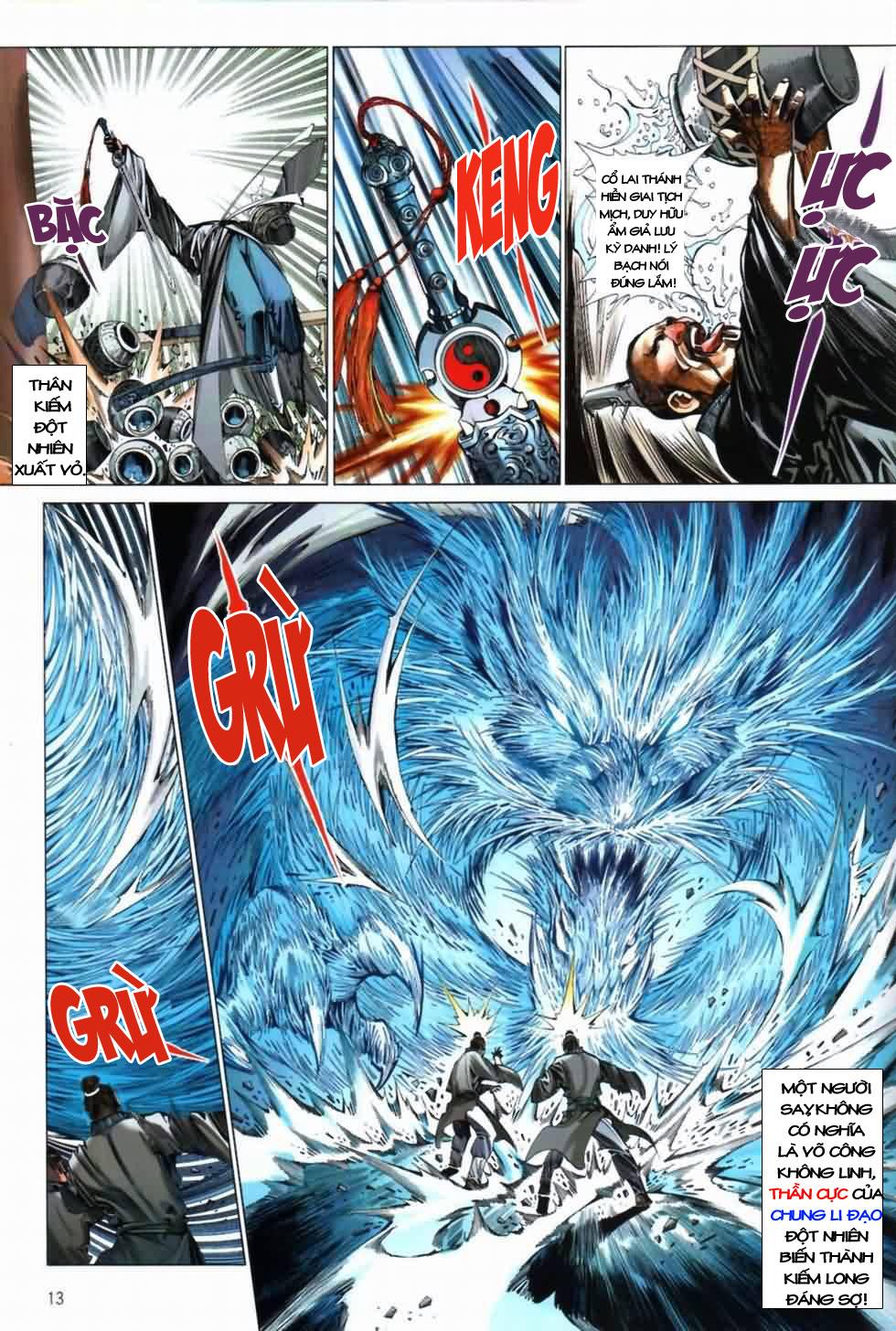 Thiên Hạ Vô Địch Kiếm Tà Thần chap 3 trang 13