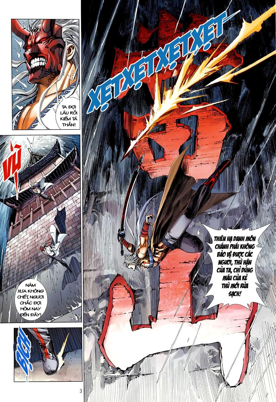 Thiên Hạ Vô Địch Kiếm Tà Thần chap 4 trang 3