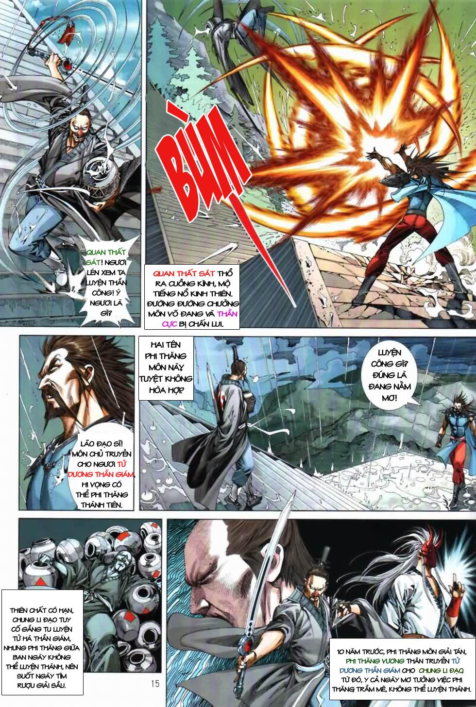 Thiên Hạ Vô Địch Kiếm Tà Thần chap 3 trang 15