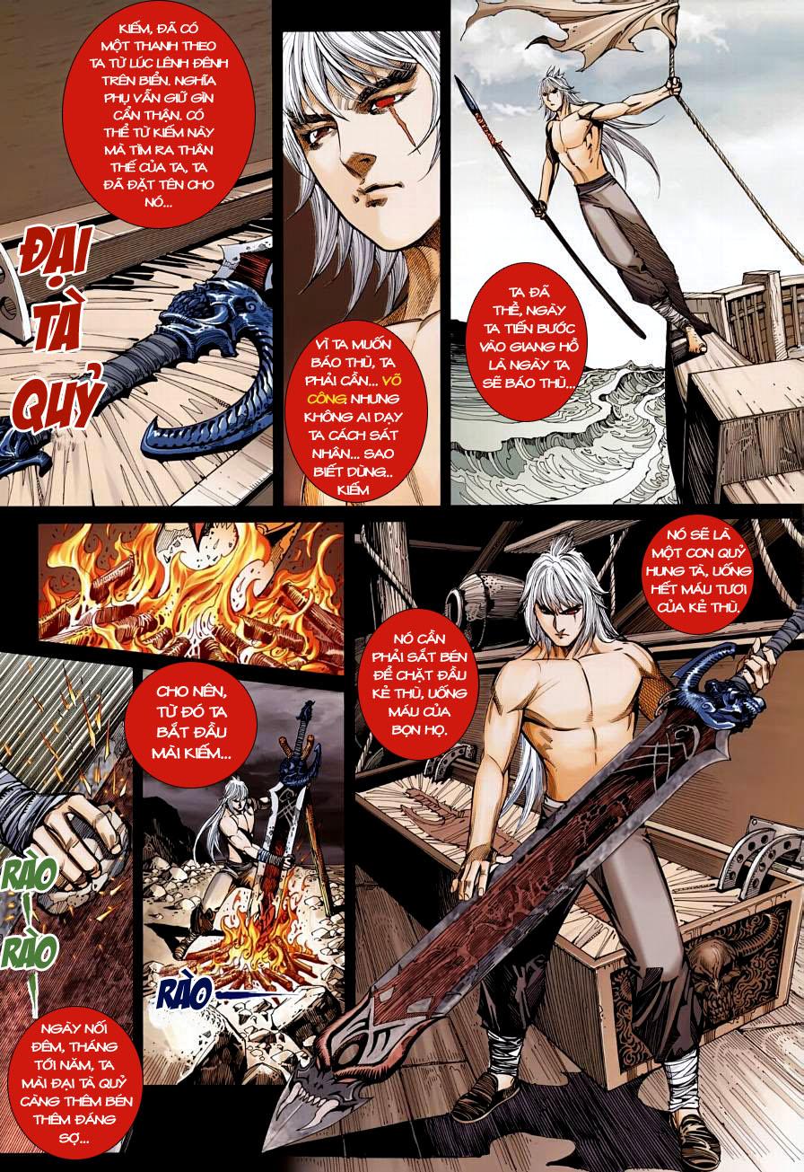 Thiên Hạ Vô Địch Kiếm Tà Thần chap 4 trang 13