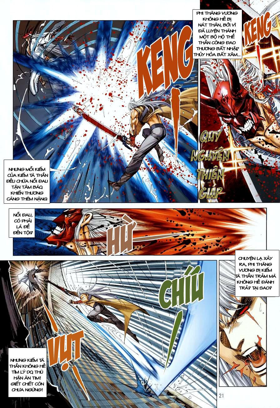 Thiên Hạ Vô Địch Kiếm Tà Thần chap 4 trang 21