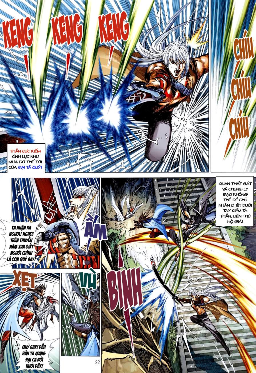 Thiên Hạ Vô Địch Kiếm Tà Thần chap 4 trang 22