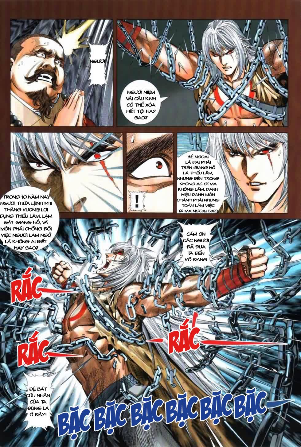 Thiên Hạ Vô Địch Kiếm Tà Thần chap 3 trang 22