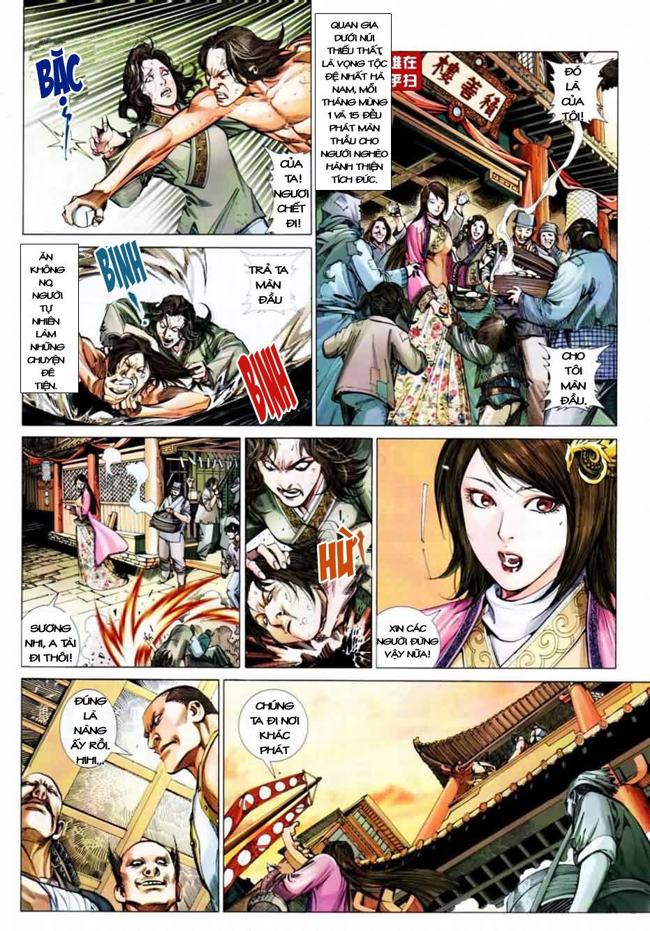 Thiên Hạ Vô Địch Kiếm Tà Thần chap 1 trang 15