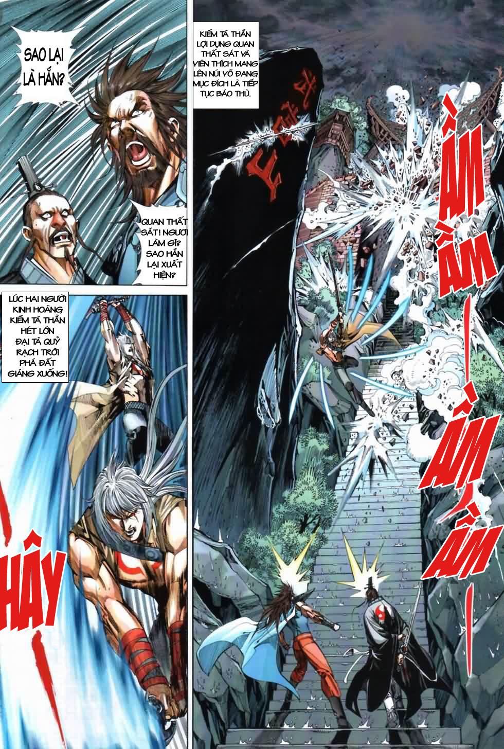 Thiên Hạ Vô Địch Kiếm Tà Thần chap 3 trang 30