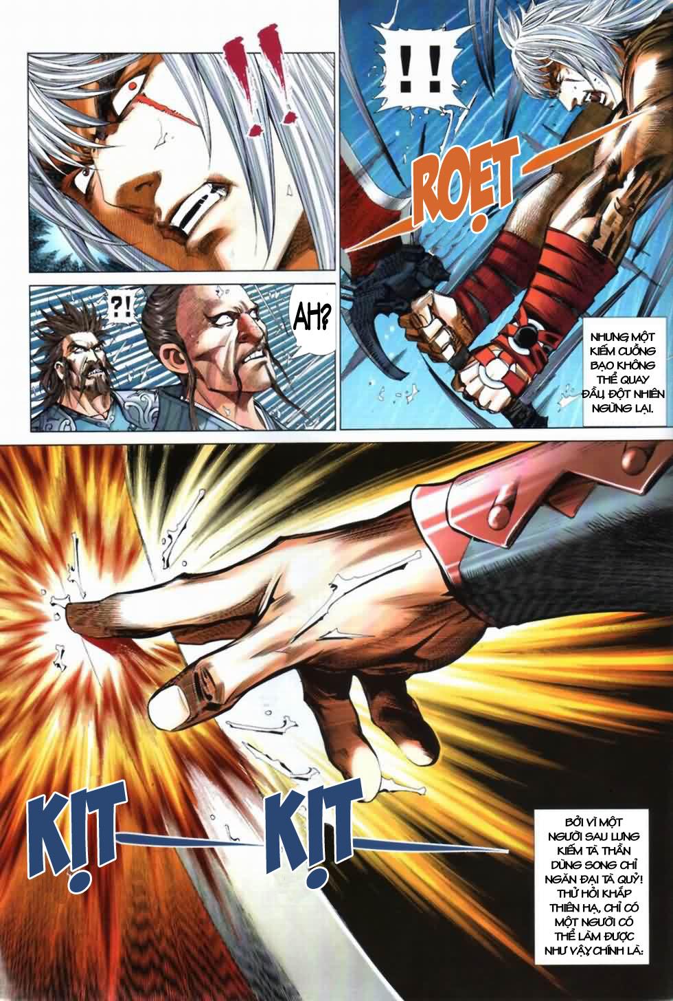 Thiên Hạ Vô Địch Kiếm Tà Thần chap 3 trang 31
