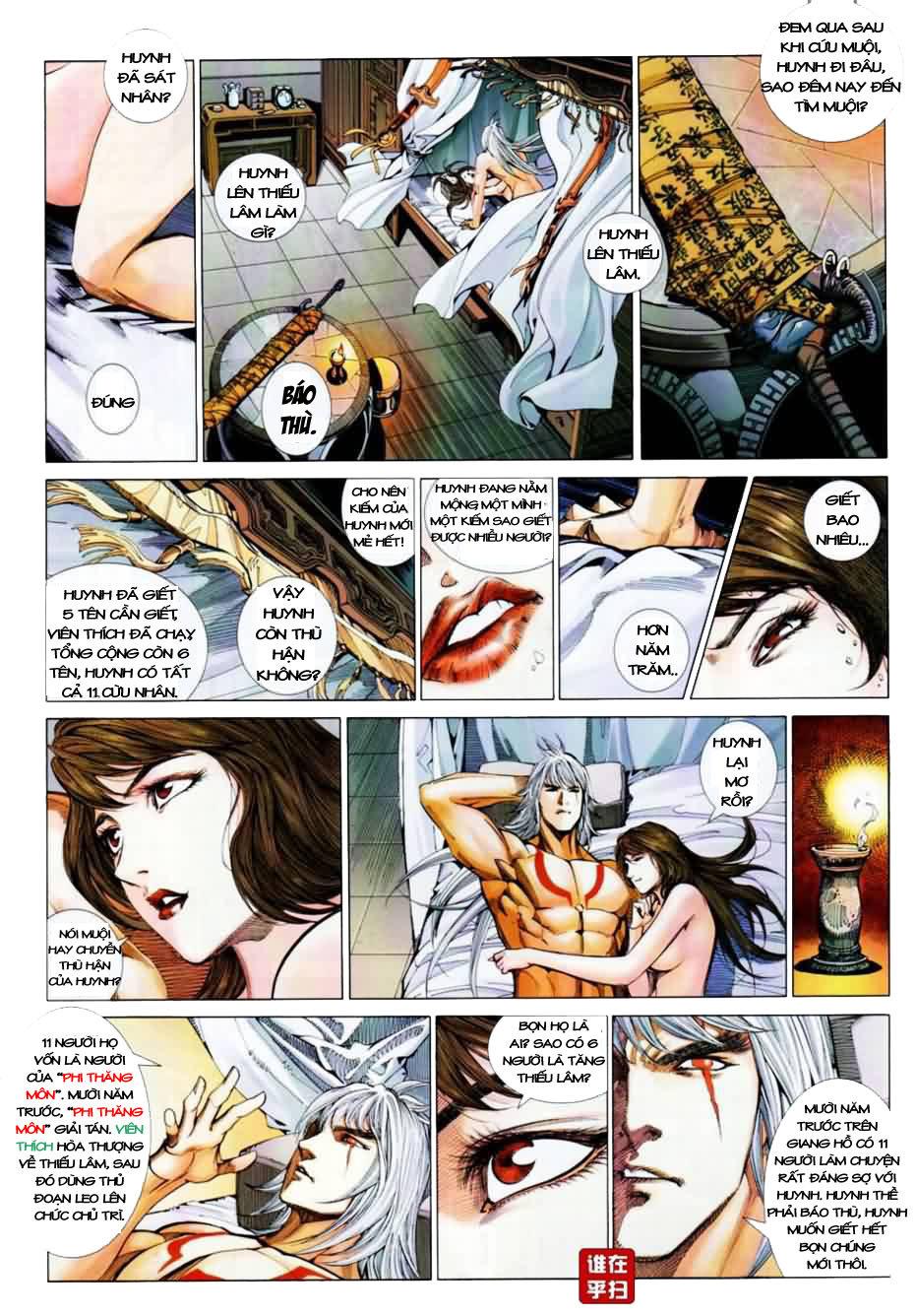 Thiên Hạ Vô Địch Kiếm Tà Thần chap 1 trang 28