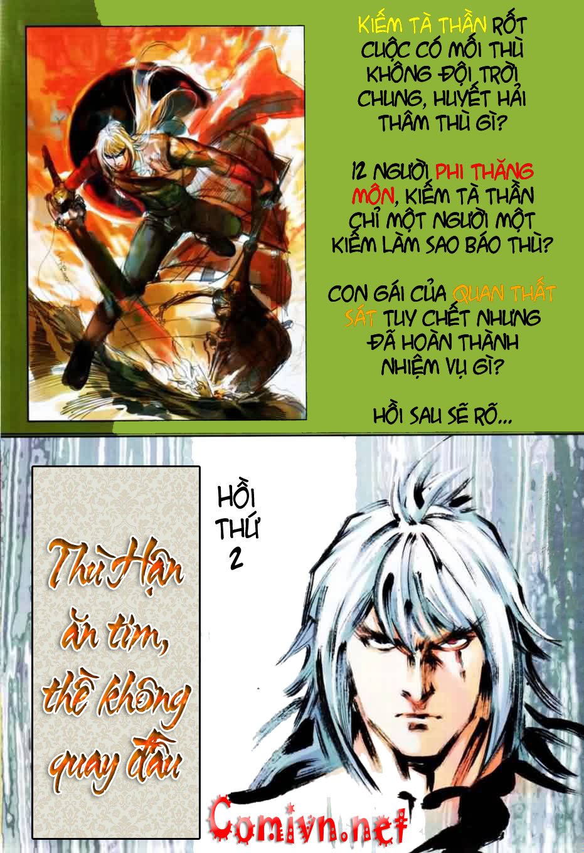 Thiên Hạ Vô Địch Kiếm Tà Thần chap 1 trang 32
